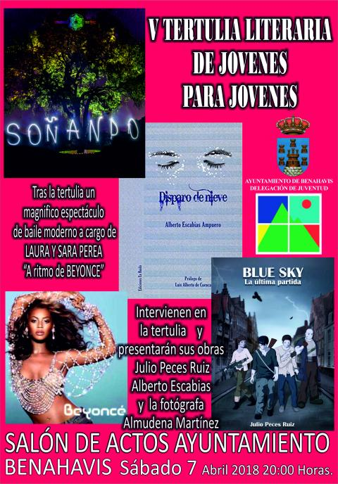 Cartel Tertulia Jovenes 2018 Final