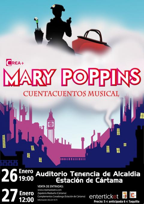 Cartel Mary Poppins 26 270119