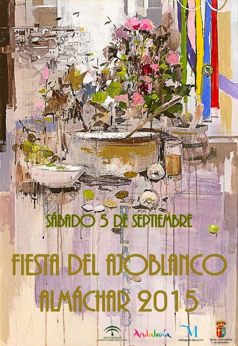 Cartel Ajoblanco 2015