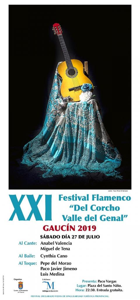 Cartel festival flamenco 2019