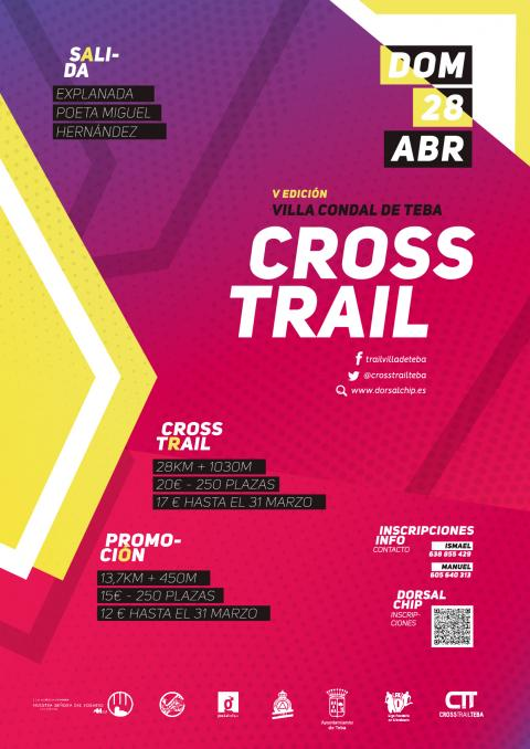 2019. CARTELES. CROSS TRAIL