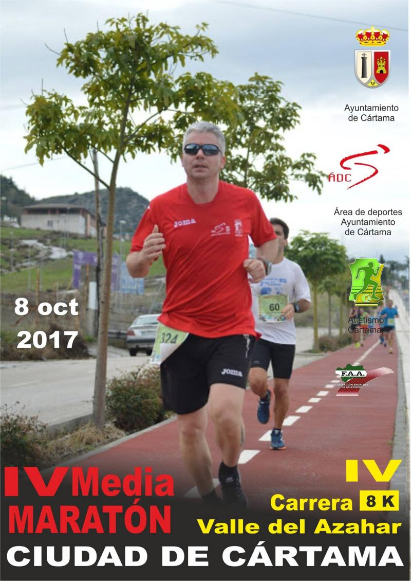 Imagen de Cartel IV Media Maratón y Carrera Popular Valle del Azahar 081017