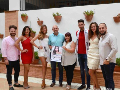 Visita candidatos Miss y Míster World Spain Málaga (010817)