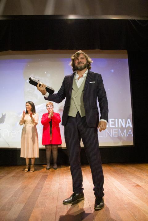 Salva Reina, premio Archidona Cinema