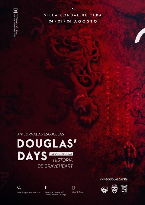 2018. CARTEL DOUGLASDAYS-E