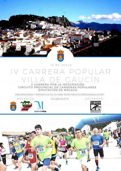 Cartel IV carrera popular 2018