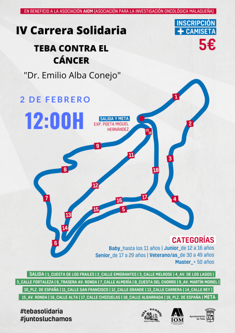 2020. CARTEL IV CARRERA SOLIDARIA WEB