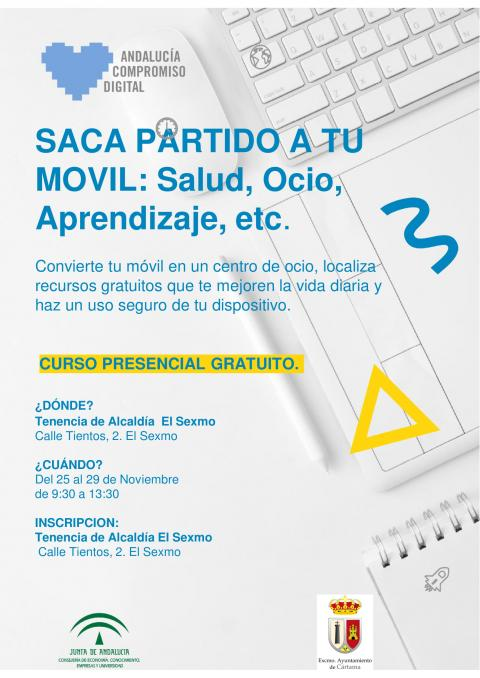EL SEXMO. Curso moviles 25-29 Nov