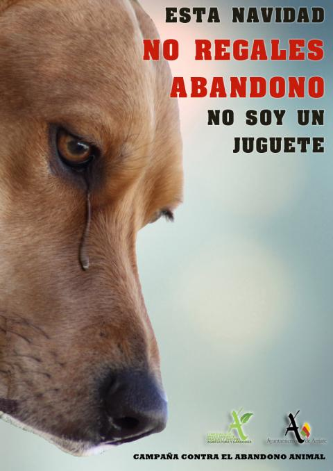 Cartel Contra el Abandono Animal 2017