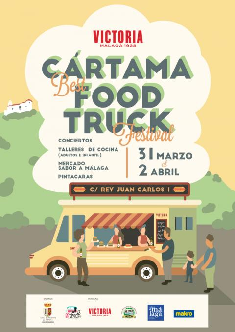 Cartel Cártama Best Food Truck Festival 2017