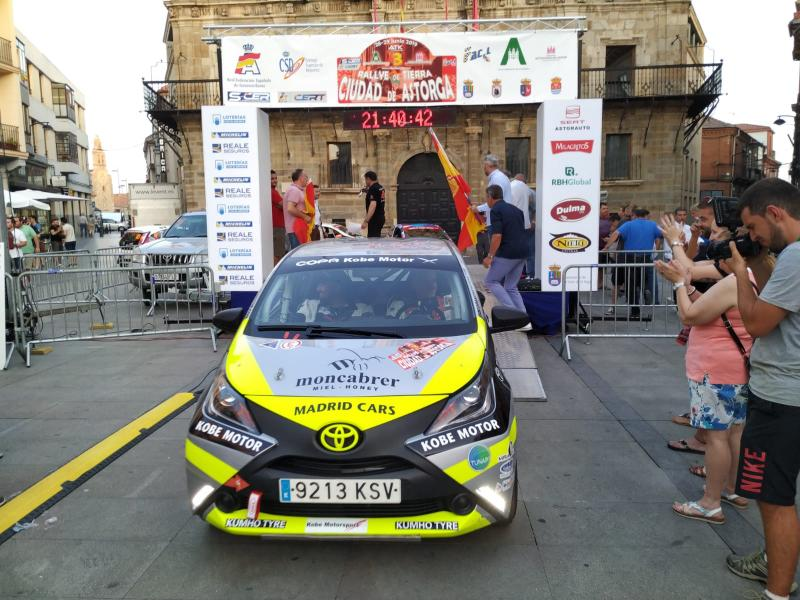 Imagen de Equipo Selections Rent Luxury & Rally Cars de Cártama en Rally Astorga junio 2019 (1)