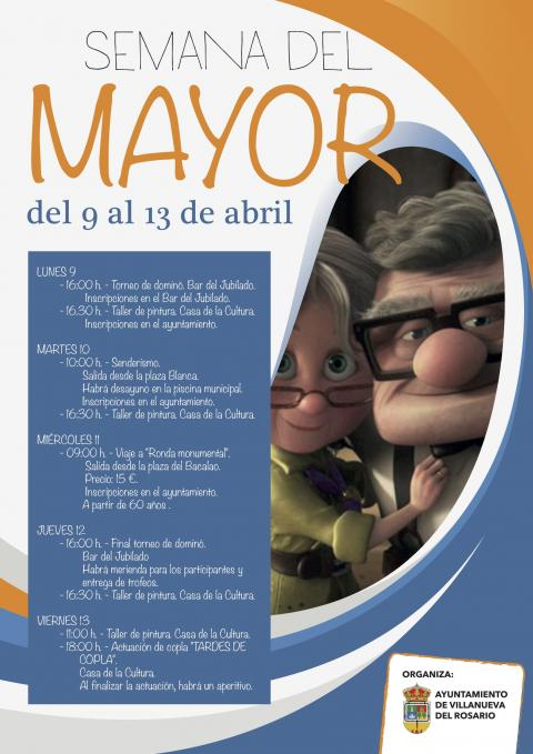 Semana del Mayor, del 9 al 13 de abril