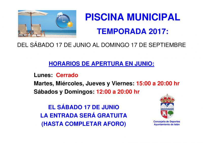 Imagen de Opening of municipal swimming pool