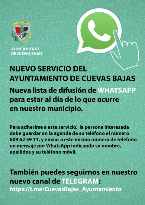 Cartel whatsapp