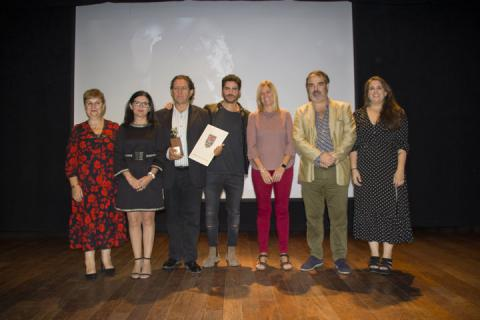 El actor Pedro Casablanc recibe el premio ASFAAN en Archidona Cinema