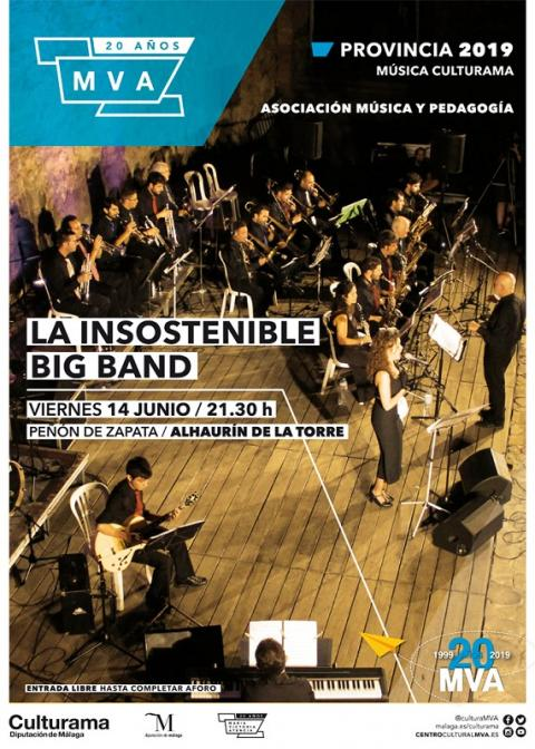 Imagen. CARTEL INSOSTENIBLE BIG BAND