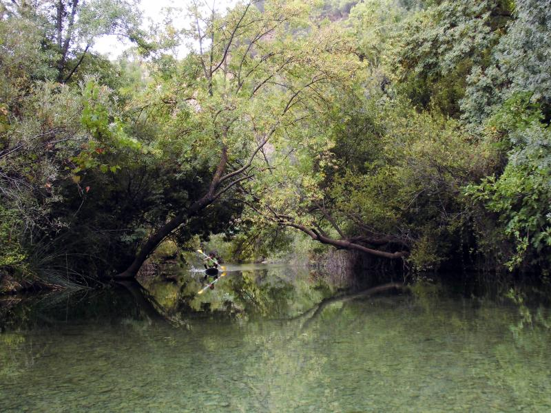 Imagen de GR 249. Stage 23. El Burgo - Ronda. The Azud Largo is used by locals for water sports and a summer swim