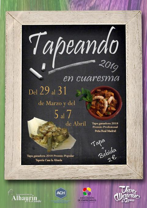 Cartel Tapeando 2019