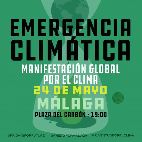 Fridays for future. Manifestación global por el clima