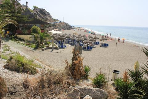 Image. Playa Wilches. Torrox