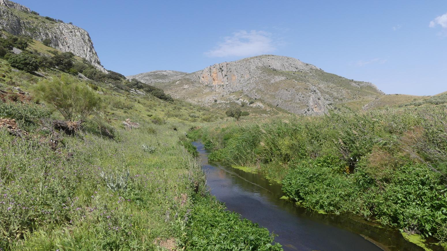 Imagen de GR 249.5. Section Stage 1. Campillos - Teba.  Venta River upstream of the Tagus of the Mill Gorge