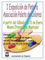 I Exposicion Paleta de Coloress